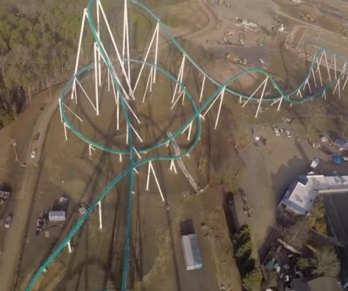 Carowinds roller coaster is taller than Statue of Liberty