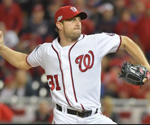Washington Nationals ace Max Scherzer (finger) could miss opener