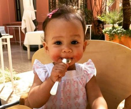 Chrissy Teigen shares video of daughter Luna's first word