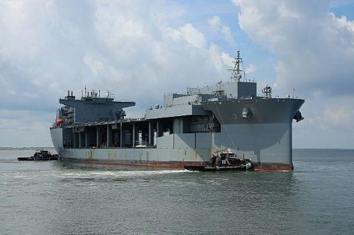 Navy to commission expeditionary sea base Lewis B. Puller