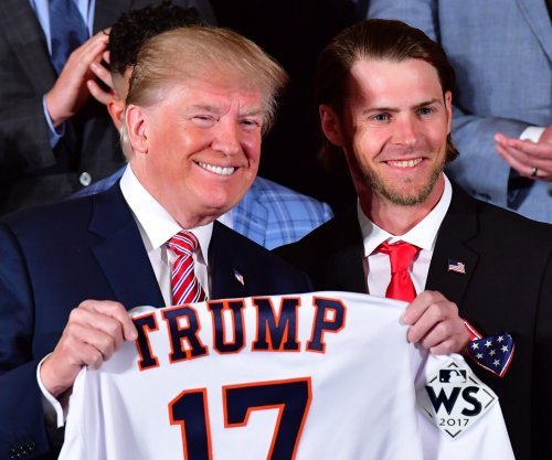 Watch: Trump hosts World Series champion Houston Astros
