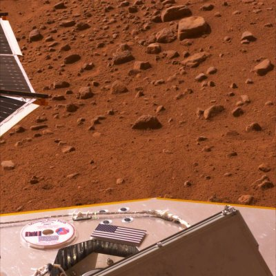 NASA said possible ice spotted on Mars