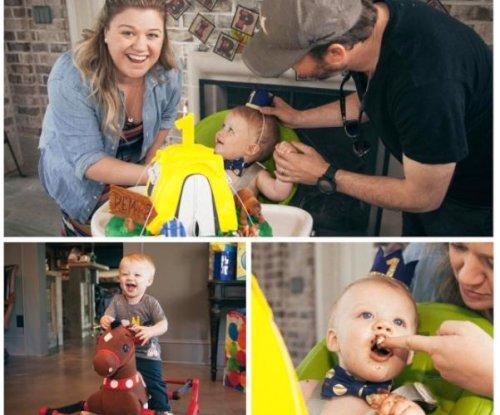 Kelly Clarkson celebrates son Remy's first birthday