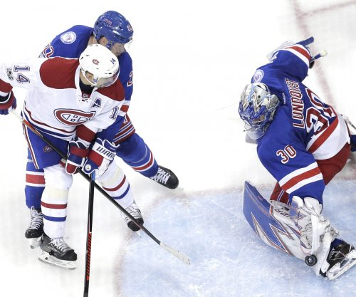 New York Rangers advance after beating Montreal Canadiens, 3-1