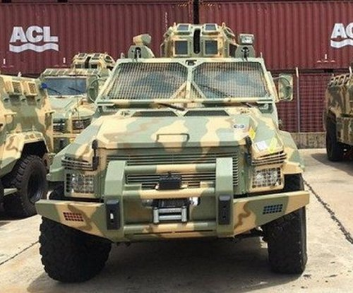Nigeria starts receiving armored vehicles from Streit