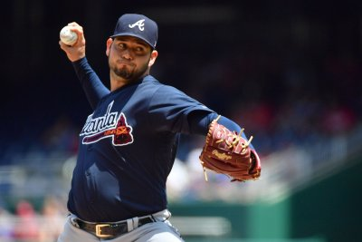Atlanta Braves' Sanchez will try to complete sweep of New York Giants
