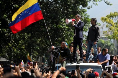 Venezuela: Protesters, National Guard clash in anti-government rallies