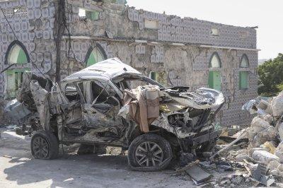 Car bombs in Somali capital kill at least 8, injure 16