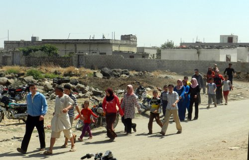 Syria calls on refugees to return