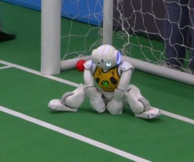 Team of U.S. robots bests Australian machines for RoboCup soccer supremacy