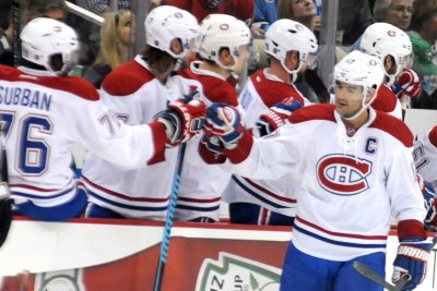 Max Pacioretty, Montreal Cadadiens edge Carolina Hurricanes