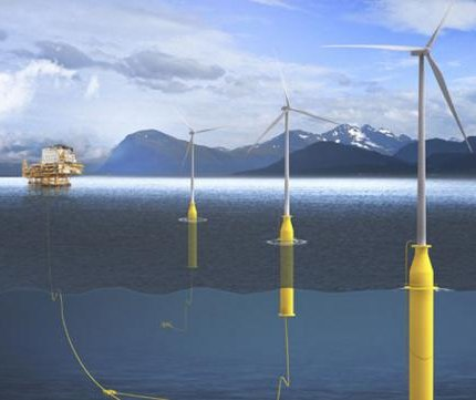 Norwegian company envisions wind energy role for oil production
