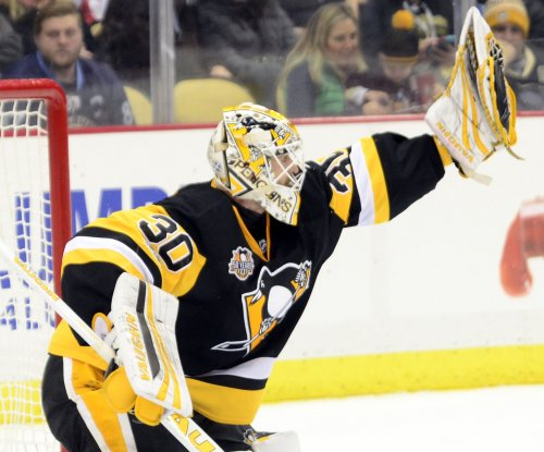 Pittsburgh Penguins G Matt Murray skates, will return as backup for Game 7