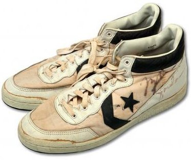 Michael Jordan Converse shoes sell for record $190K at auction