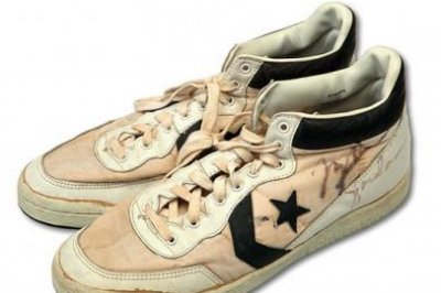 Michael Jordan Converse shoes sell for record $190K at
