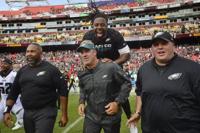 Philadelphia Eagles Week 8 notes, report card: Eagles happy with state of team