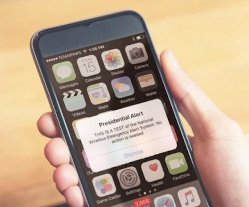 FEMA test sends first Presidential Alert to U.S. cellphones