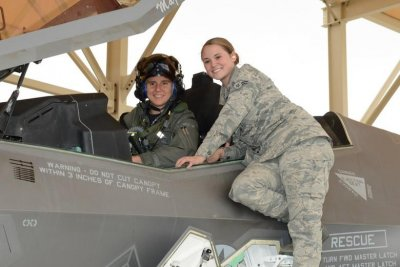 Air Force conducts first F-35 test flight led by female pilot