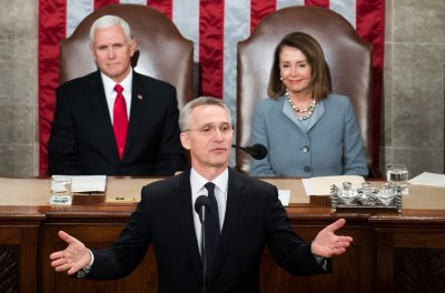 NATO chief to U.S. Congress: 'We must overcome our differences now'