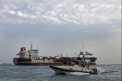 Iran releases video of British tanker capture
