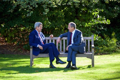 John Kerry on talks with Russian counterpart: 'Some agreement, some disagreement, some fresh air'