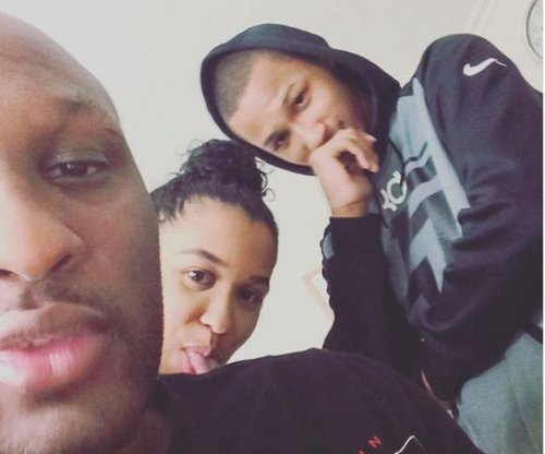 First photo of Lamar Odom since hospitalization posted by his son