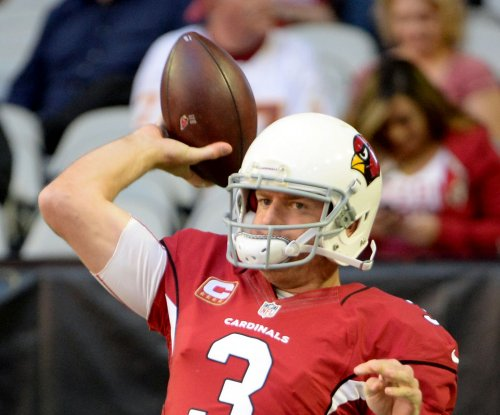 Arizona Cardinals QB Carson Palmer unleashing arm early