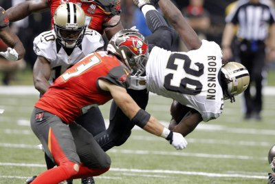 Tampa Bay Buccaneers exercise options on OT Demar Dotson, two others