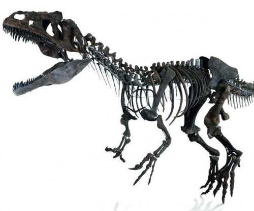 Dinosaur skeleton sells at Paris auction for more than $2M