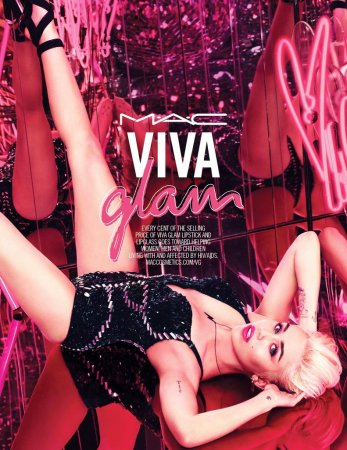 Miley Cyrus made new face of MAC Viva Glam
