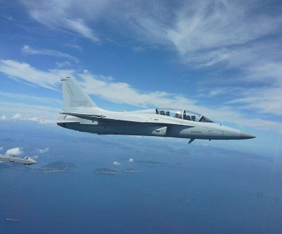 Philippine Air Force receiving South Korean FA-50 jets