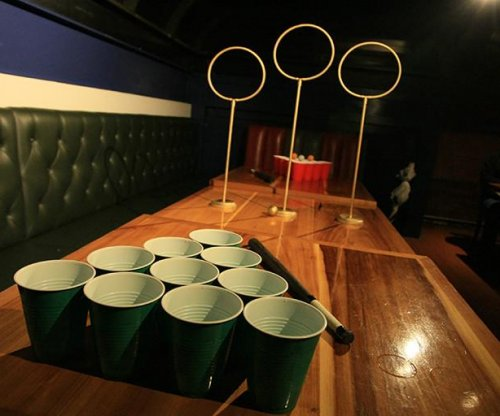 'Quidditch Pong' provides a magical twist on drinking game