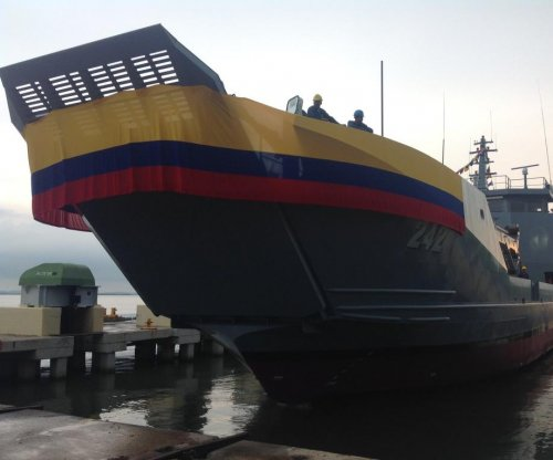 Cotecmar delivers two ships to Colombia