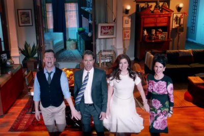'Will & Grace' stars sing and dance in revival trailer