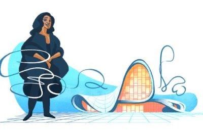 Google honors architect Zaha Hadid with new Doodle