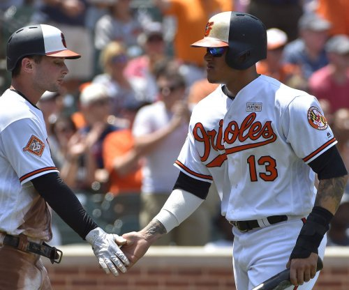 Manny Machado belts two homers as Baltimore Orioles defeat Cleveland Indians