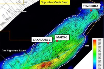 Gas potential off the coast of Indonesia under review