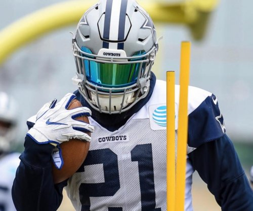 Dallas Cowboys RB Ezekiel Elliot ripped and ready
