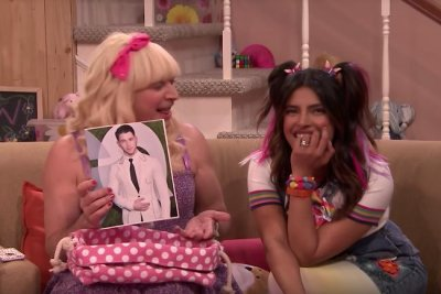 Priyanka Chopra gushes over Nick Jonas during 'Ew!' with Jimmy Fallon