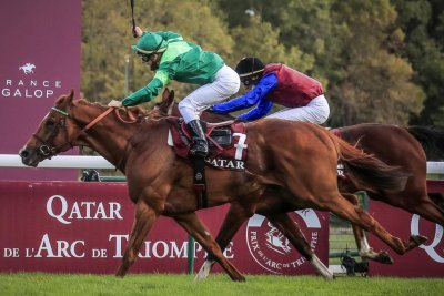 2019 French Derby winner Sottsass triumphant in the Arc; Enable is sixth