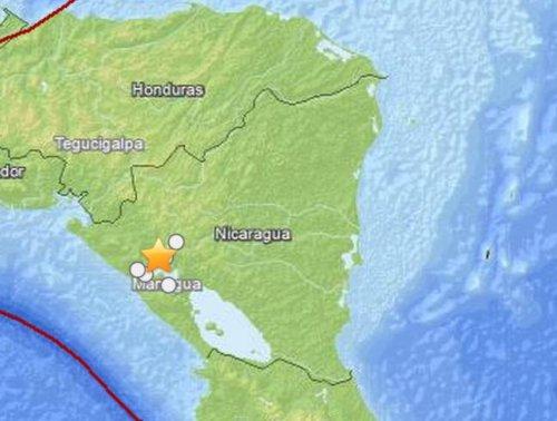 Nicaragua earthquake: 6.1-magnitude quake rattles west coast