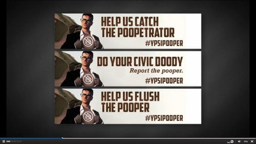Ypsilanti's 'mystery pooper' finally flushed out by Michigan police