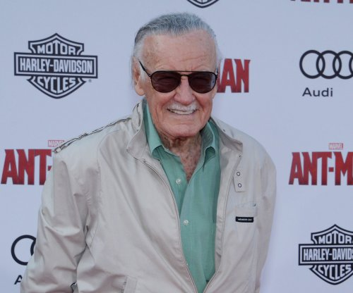 Stan Lee attends 'Ant-Man' premier