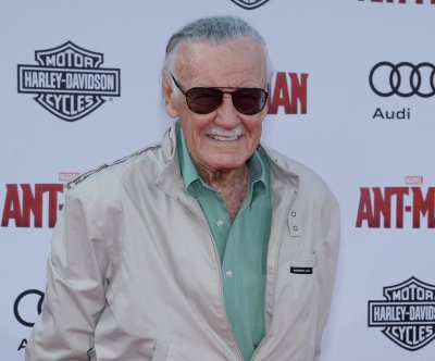 Stan Lee attends 'Ant-Man' premier