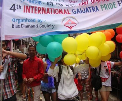 Gay rights protesters parade in Nepal for constitutional guarantees