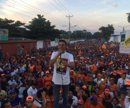 Venezuelan opposition criticizes 'authoritarian' arrest of lawmaker