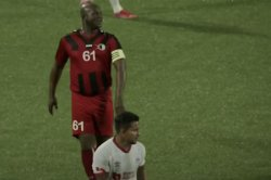 Suriname's vice president sets record for oldest soccer player