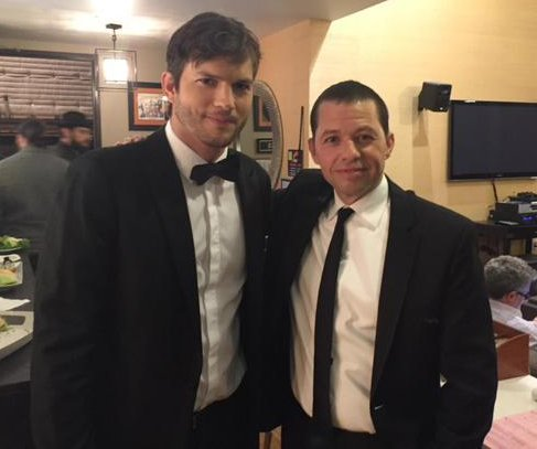 Ashton Kutcher posts tribute to 'Two and a Half Men' co-star Jon Cryer