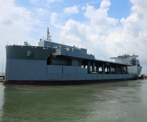 Navy launches expeditionary sea base Hershel 'Woody' Williams