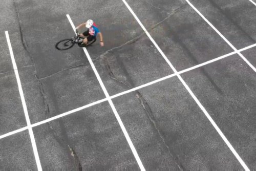 Cyclist wheelies for 50.5 miles to break Guinness record